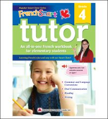 Canadian Curriculum French Workbook FrenchSmart Tutor grade 4